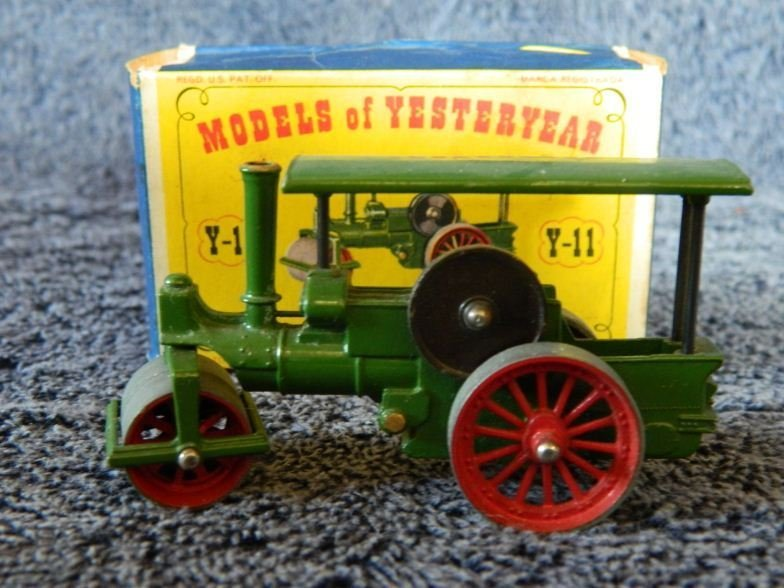 6: Models of Yesteryear Lesney boxed Y-11 Aveling & Por