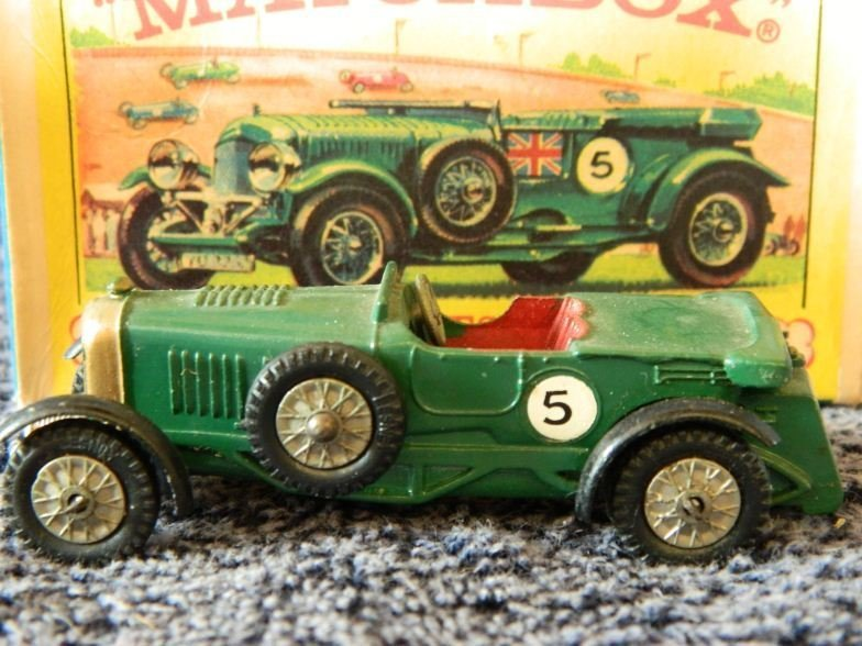 8: Matchbox Models of Yesteryear 1929 4 1/2 litres Bent