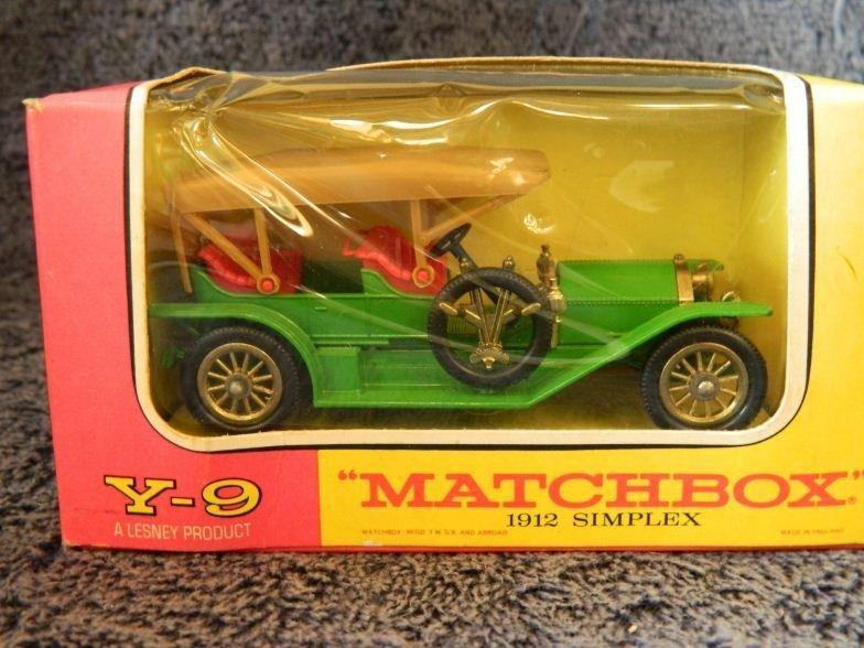 10: Matchbox Y-9 a Lesney product 1912 simplex
