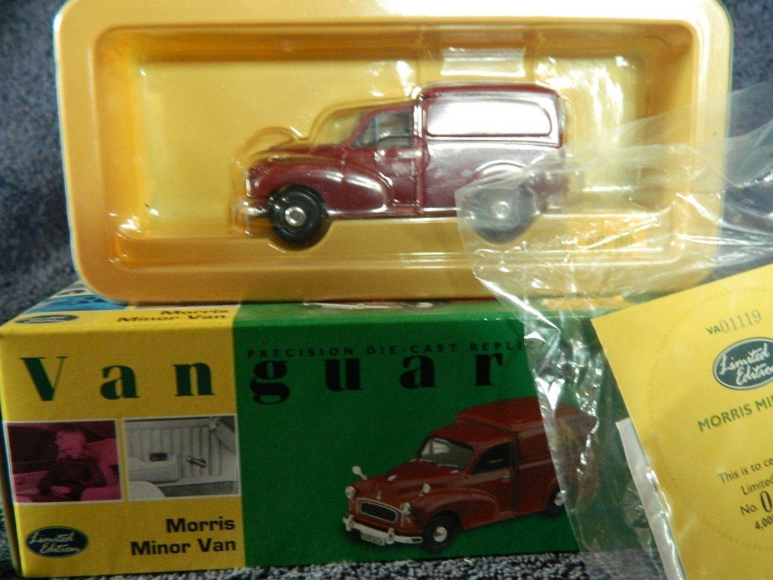 18: Vanguard Morris Minor van scale 1:43 Ltd Edition 04