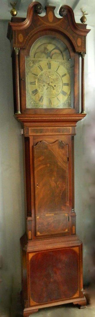 513:George III  'Grandfather clock'