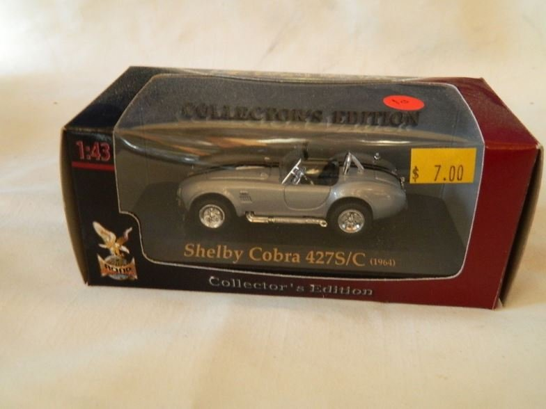 Die cast collection Shelby Cobra