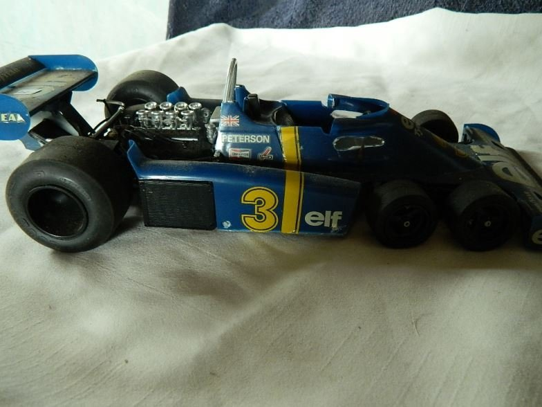 Formula One racing car scale model