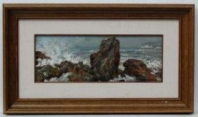 Constantino Gomez Salvador (1864-1937) Spanish, Oil on