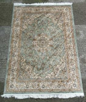 Carpet / Rug : A machine made prayer rug , in the