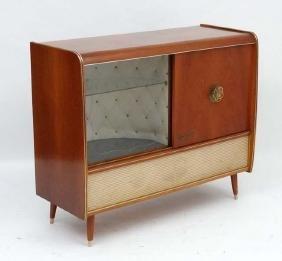 Vintage Retro :a 1950's Weimar Radiogram / Gramophone