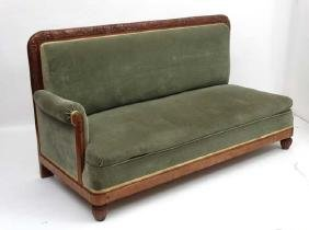 Early 20thc Continental  ' Day-bed Sofa ' having a