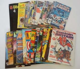 Comic Books: A collection of Approximately 38 Comic