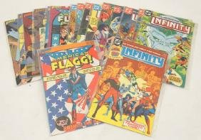 Comic Books: A collection of 10 DC Comics '' Infinity''