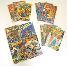 Comic Books: A collection of approx 12 DC, Charlton ,