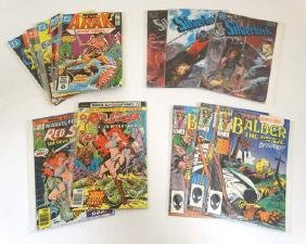 Comic Books: A collection of approx 12 DC,  PC and