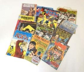 Comic Books: A collection of approx  11 Comics to