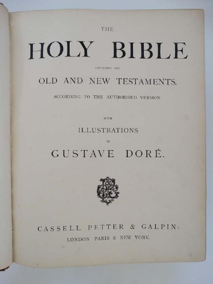 Book: '' The Holy Bible containing the Old and New - 4