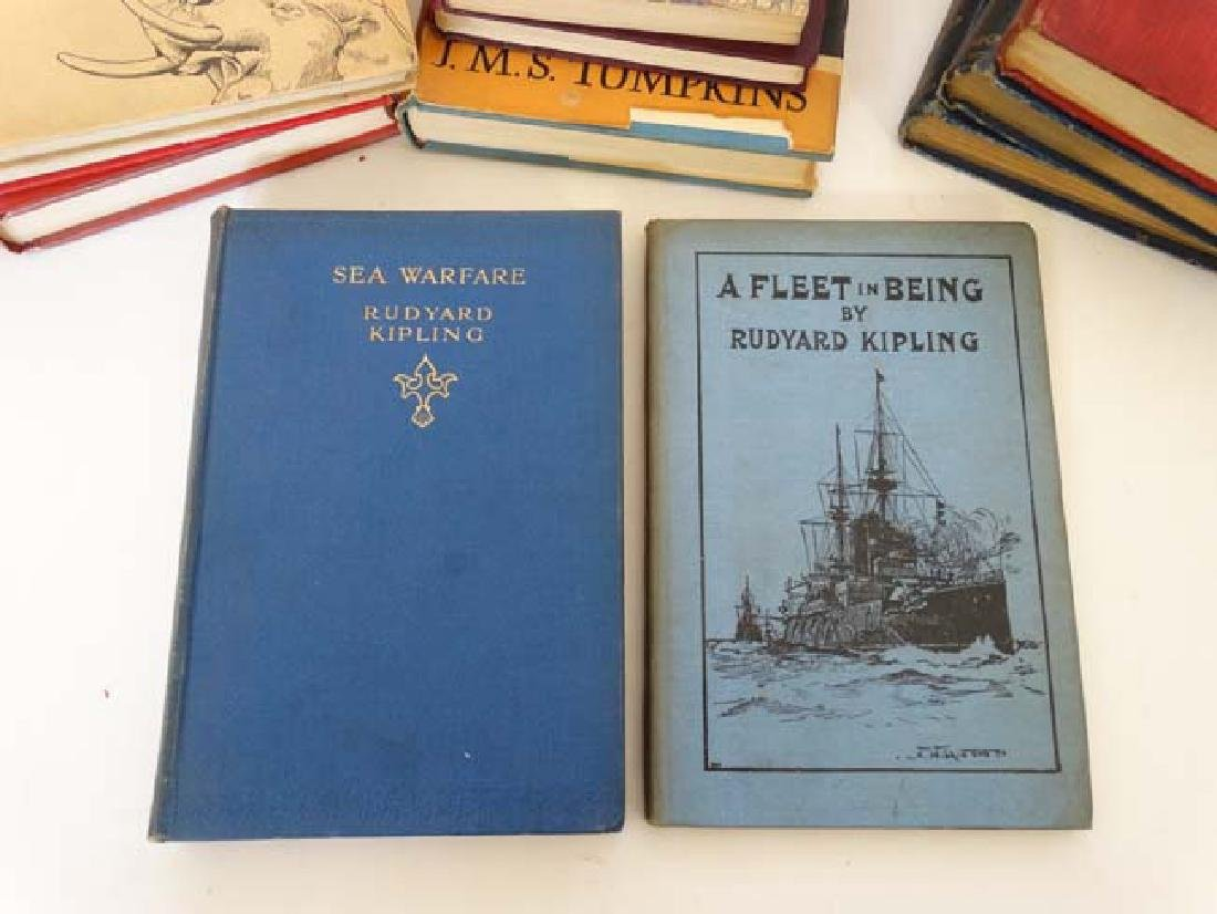 Books: A collection of Rudyard Kipling books , to - 10