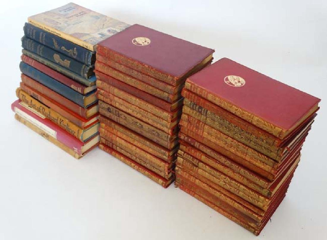 Books: A collection of Rudyard Kipling books , to