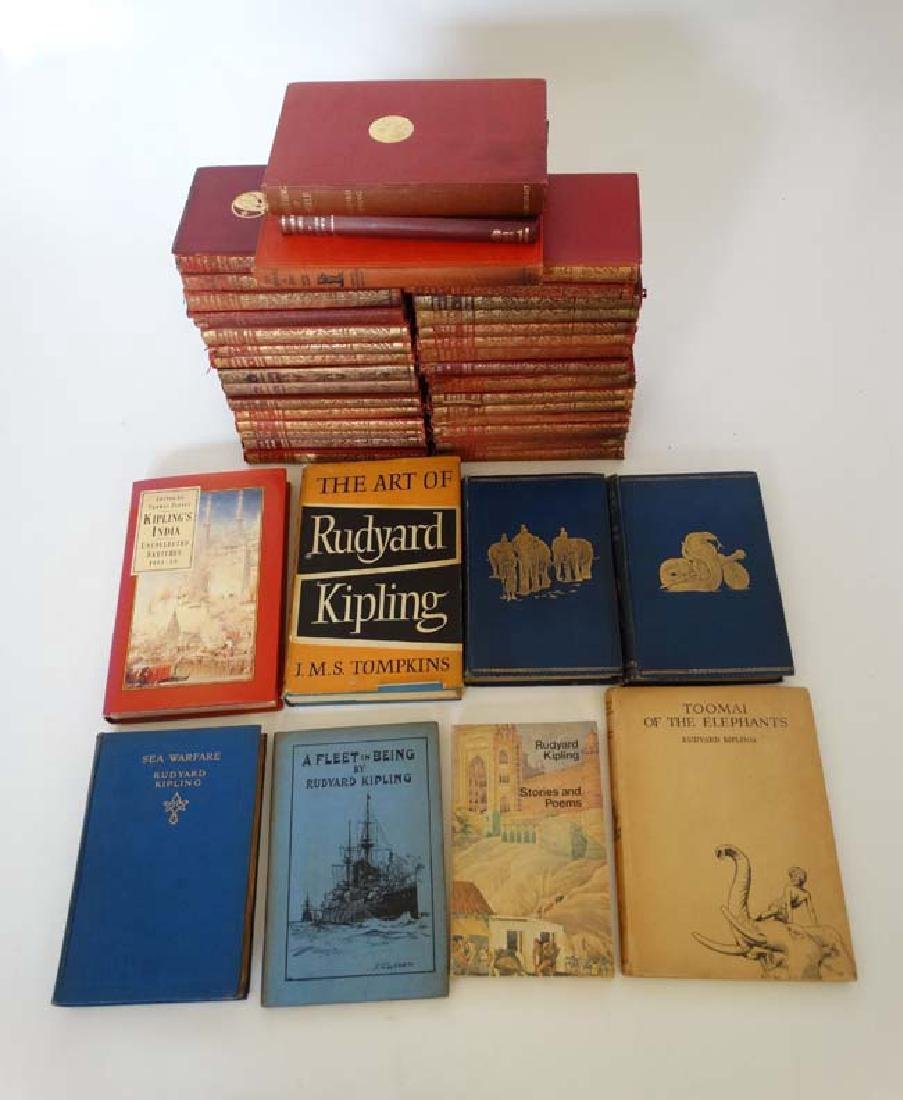 Books: A collection of Rudyard Kipling books , to - 2