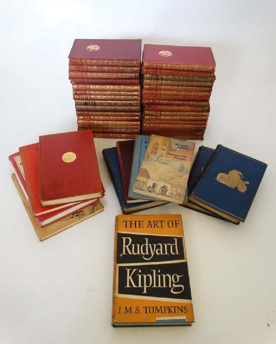 Books: A collection of Rudyard Kipling books , to - 3