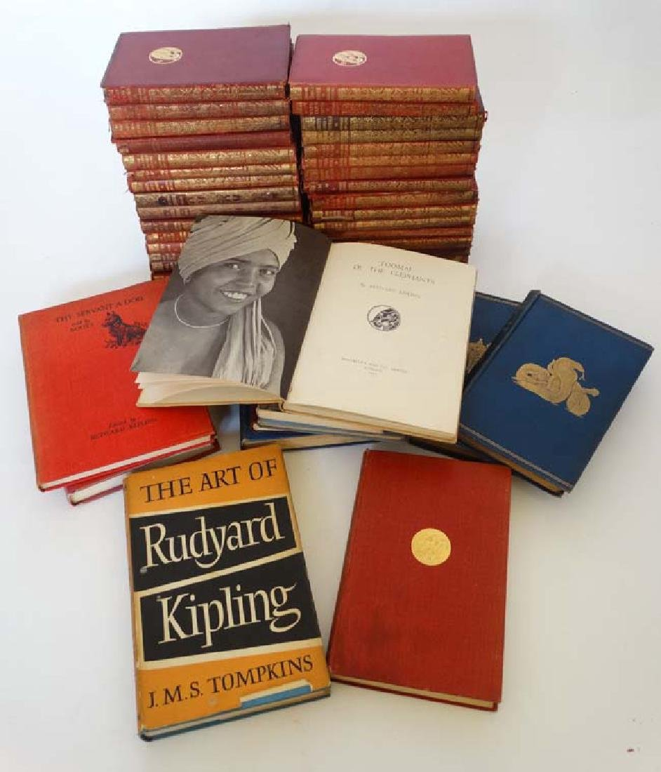 Books: A collection of Rudyard Kipling books , to - 5