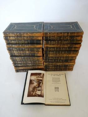 Books: A collection of 27 volumes of '' The Historians'