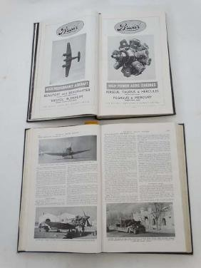 Militaria : Two books on the subject of Aviation ,
