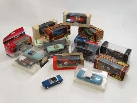Toys: A collection of Corgi model cars to include a