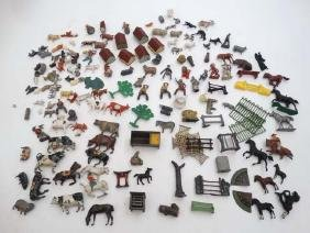 Toys: A collection of vintage die cast miniature