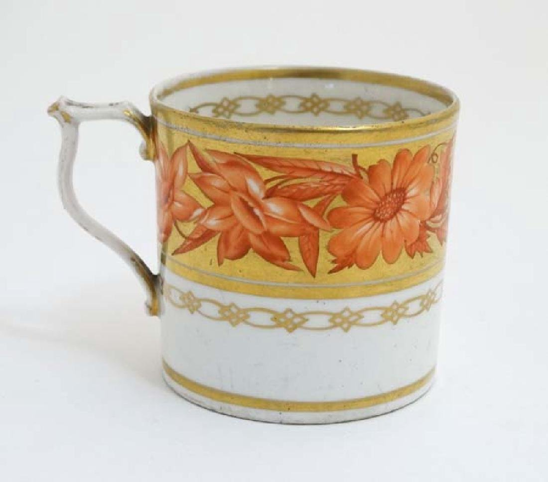An early 19thC Derby Porcelain coffee can / cup ,