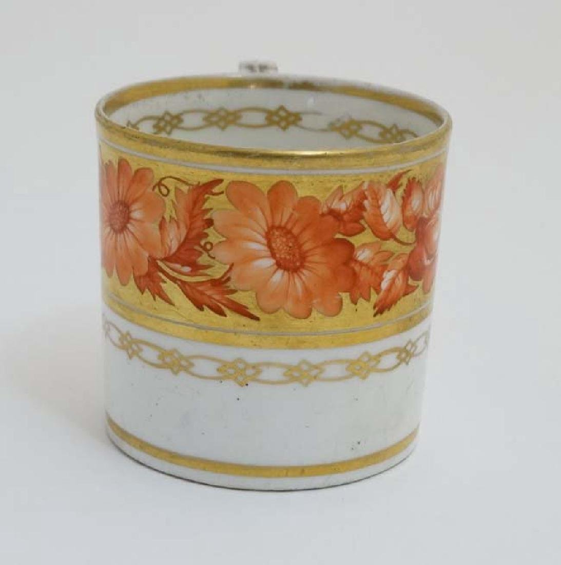 An early 19thC Derby Porcelain coffee can / cup , - 3