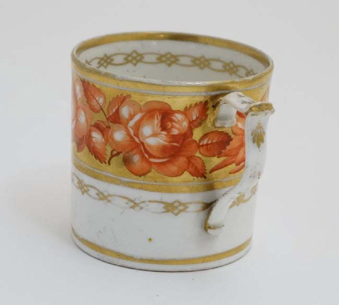 An early 19thC Derby Porcelain coffee can / cup , - 4