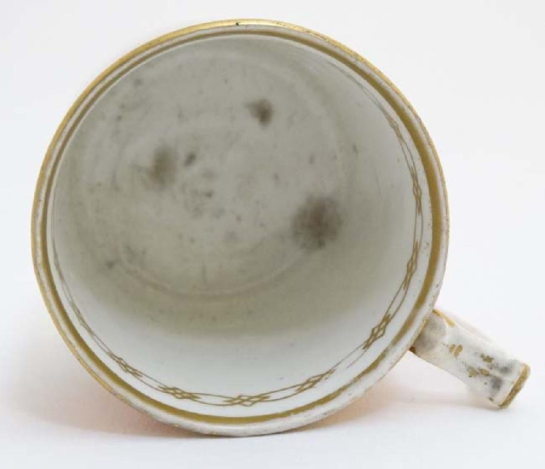 An early 19thC Derby Porcelain coffee can / cup , - 5