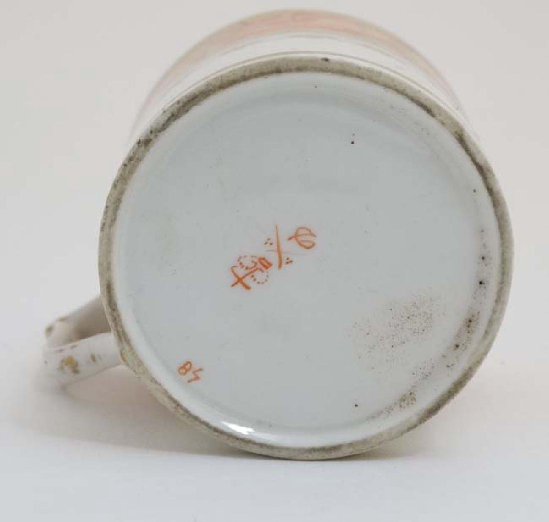 An early 19thC Derby Porcelain coffee can / cup , - 6