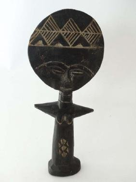 Ethnographic African native tribal Ashanti fertilely