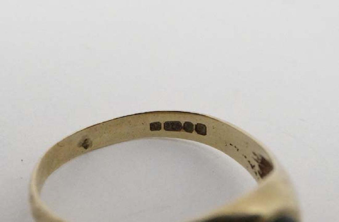 3 various rings to include 2 marked 9ct. (3) - 4