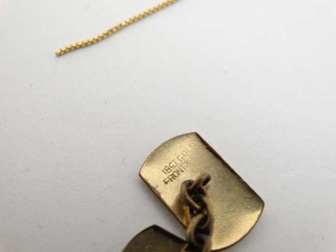 Assorted 9ct gold and gilt metal jewellery to include - 6