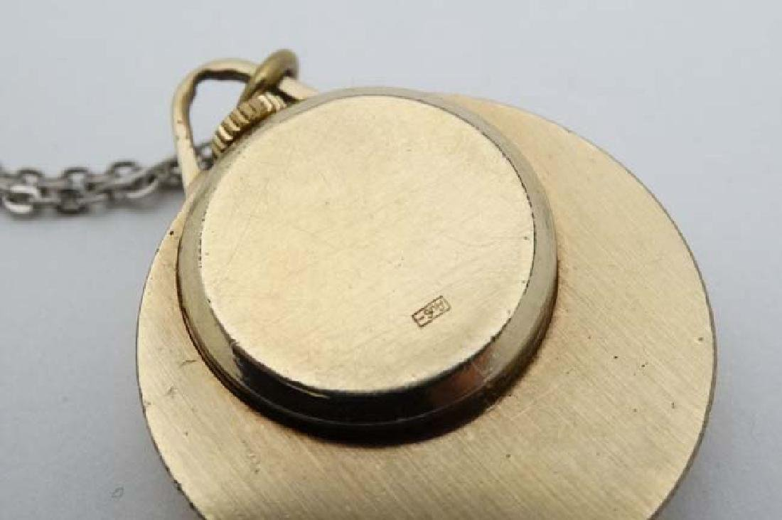 .375 Gold Rotary watch and a Gold plated pendant watch - 2