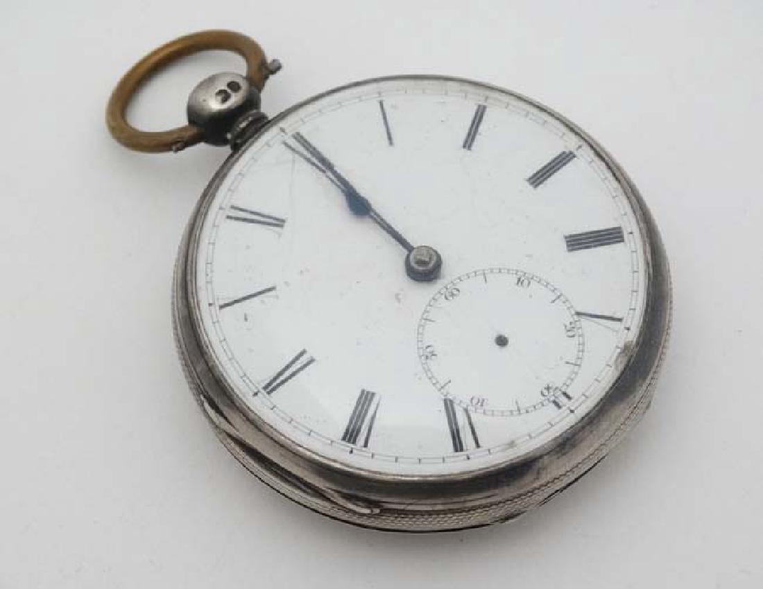 HM silver cased Fusee pocketwatch : 'AD  1851 '