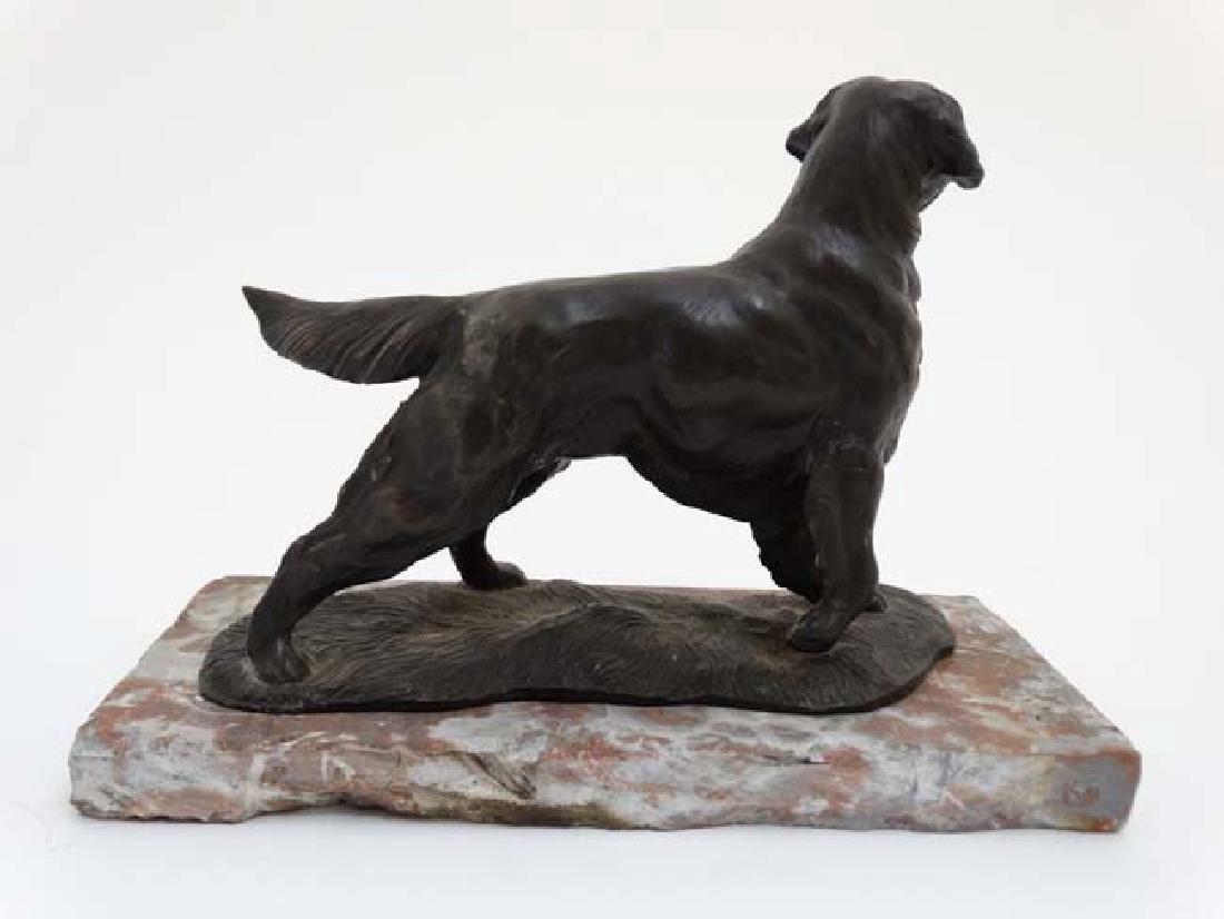 Gun Dog : a bronzed sculpture of a Labrador Retriever - 5