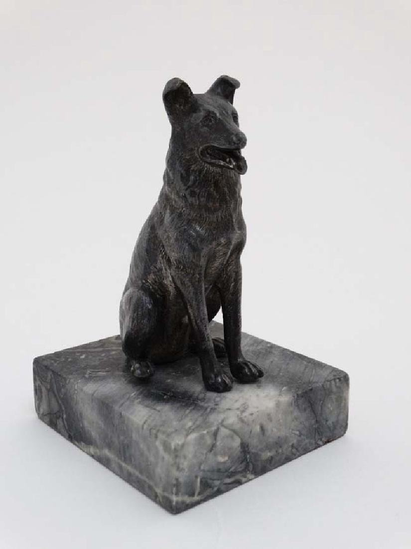 Gun Dog : a bronzed sculpture of a Labrador Retriever - 8