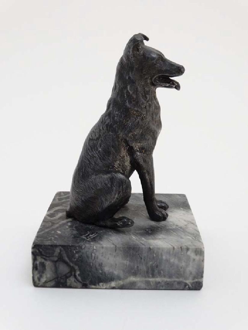 Gun Dog : a bronzed sculpture of a Labrador Retriever - 9