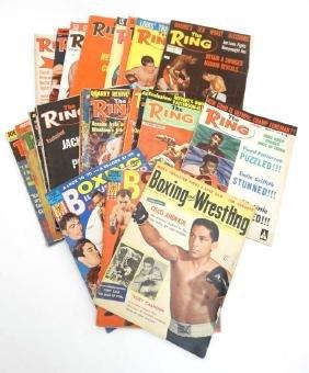 Boxing: '' Boxing and Wrestling '' magazine volume 4,