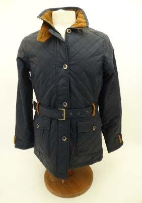 Musto Ladies 'Sam Cotswold ' Quilted Jacket, in Navy,