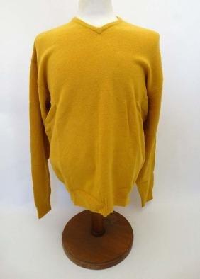 Laksen 'Astor Knit' Jumper in Yellow, size L.