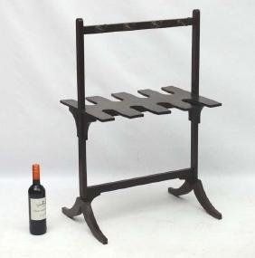A late Georgian Mahogany Whip- Rack ( and boot rack
