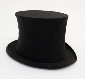 Collapsible Top Hat / Opera Hat : a  Lincoln Bennett