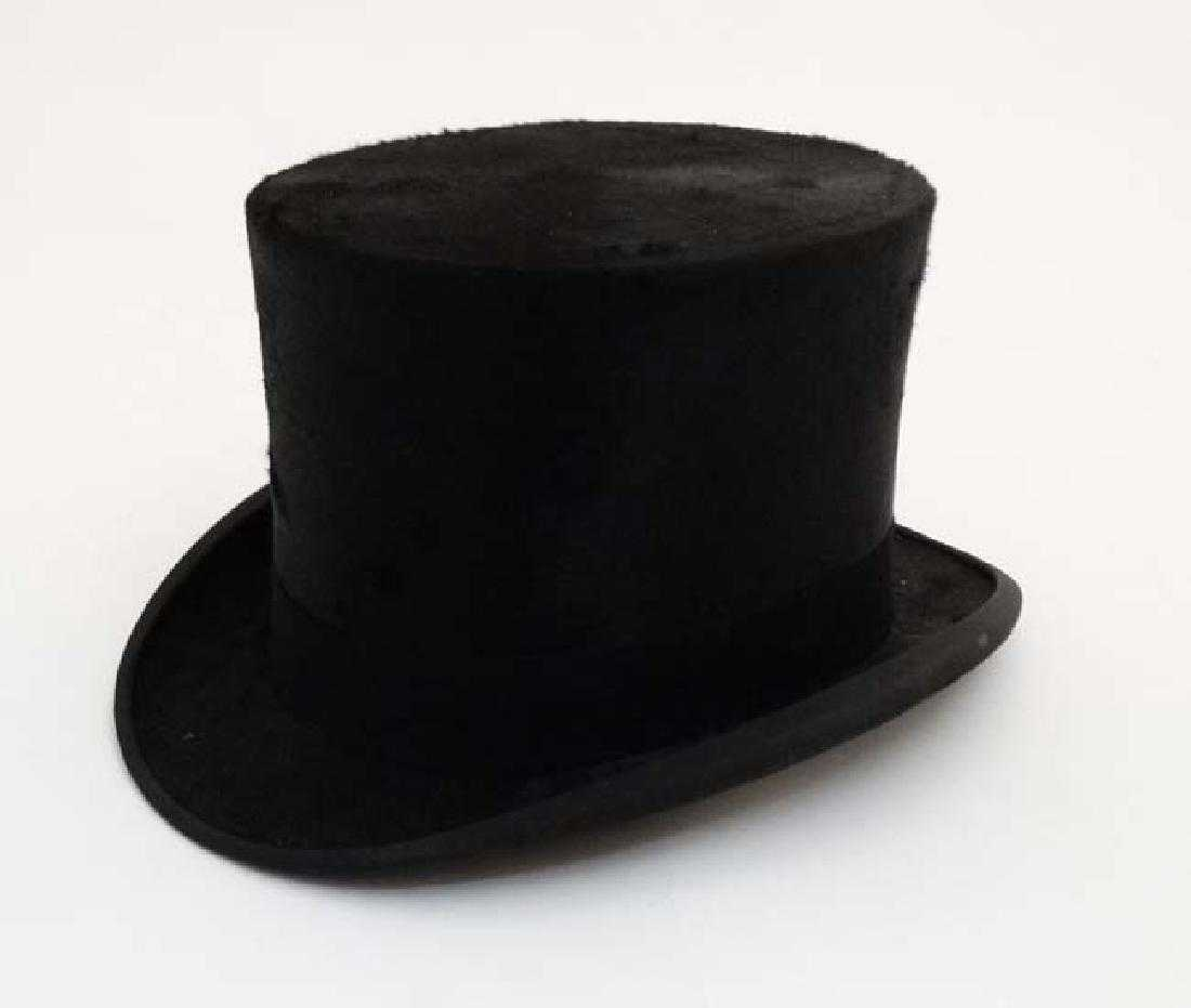 e4e7b8668c2e9 Brushed Silk Top Hat   a Tress   Co ( JH Pakeman   Sons