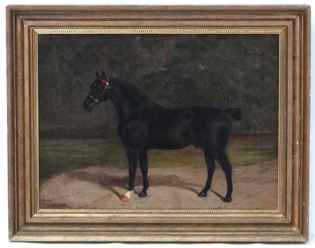 Albert Clark (act. 1821-1910) Equestrian School Equine