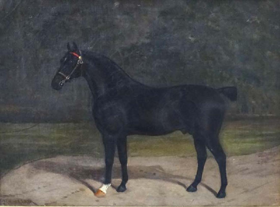 Albert Clark (act. 1821-1910) Equestrian School Equine - 3