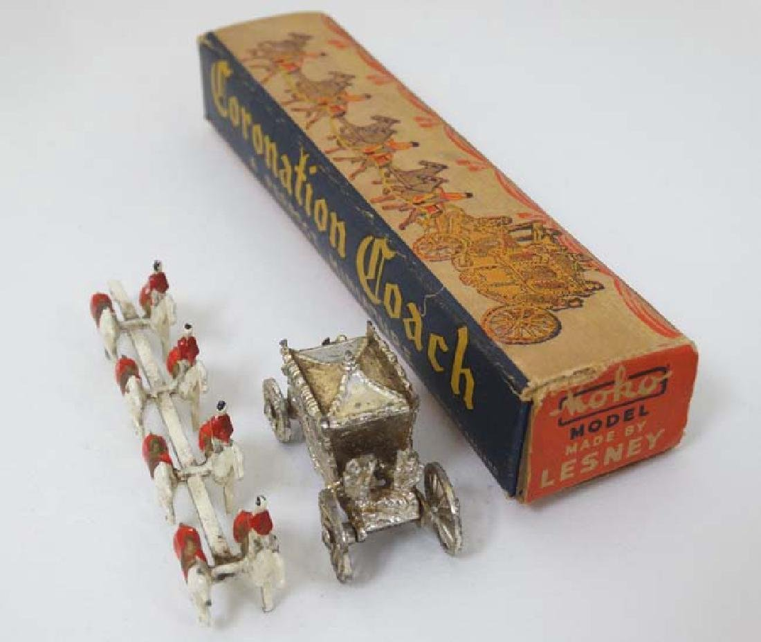 Toys: Two 1952 Lesney Products & Co, London , - 12