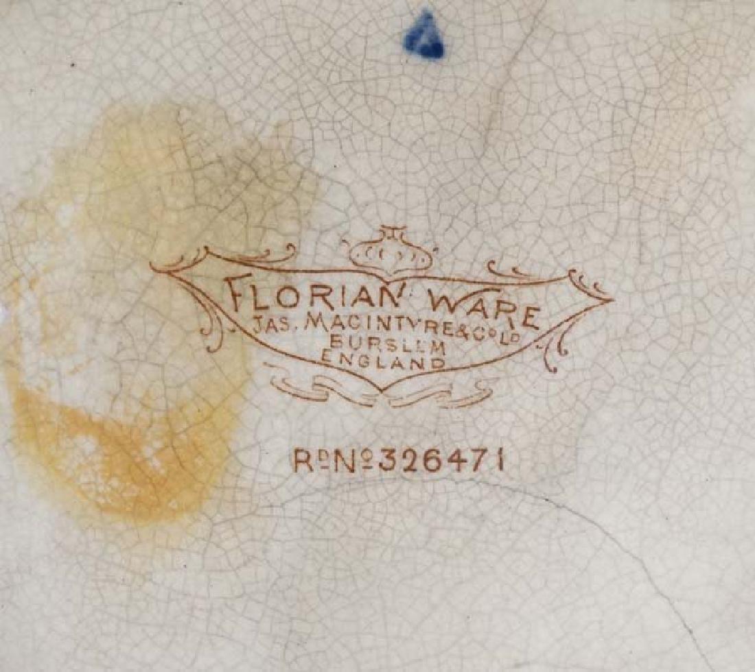 A c1900 Jas Macintyre & Co Ltd, Florian ware - 2
