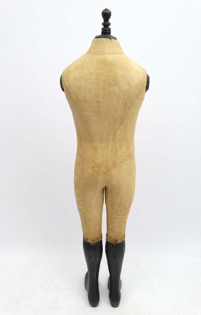 A 'Stockman , Paris '  shop advertising mannequin. 51'' - 2